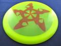 Discmania C-Line TD Rush - Yellow 175g red swoosh star design