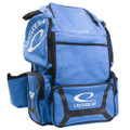 Latitude 64 DG Luxury E3 Backpack Disc Golf Bag - Blue/Black