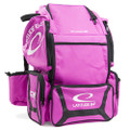 Latitude 64 DG Luxury E3 Backpack Disc Golf Bag - Pink/Black