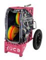 Zuca Disc Golf Cart - Anaconda / Pink