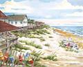 "Seaside Row - 8"" x 10"" Fine Art Print"