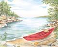 "Kayak One - 8"" x 10"" Fine Art Print"