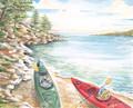 """Kayak Two - 8"""" x 10"""" Fine Art Print"""