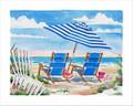 "Oceanview Two - 8"" x 10"" Fine Art Print"
