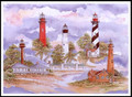 Florida Lighthouses Signed & Numbered Limited Edition