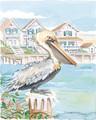 "Pelican One - 8"" x 10"" Fine Art Print"