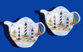 Trays - Tea Bag or Spoon Rest - Set of 2