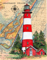 Assateaque Island Lighthouse