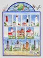 "New Jersey Lighthouse Challenge Poster 18"" x 24"" FREE SHIPPING!"