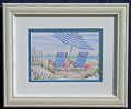 Mini-Oceanview Two - Custom Framed Print $19.95
