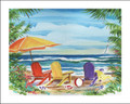 "Seaview Three - 16"" x 20"" Custom Name Dropped Print"