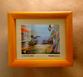 Dockside View - 3D Shadow Box