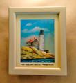Cape Henlopen Lighthouse - 3D Shadow Box