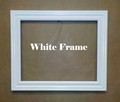 """8"""" x 10"""" White Picture Frame"""
