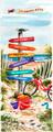 Florida Keys Signpost by Donna Elias