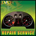 Audi TT Cluster, Fuel, Temperature Gauge & Center Display *Repair Service *