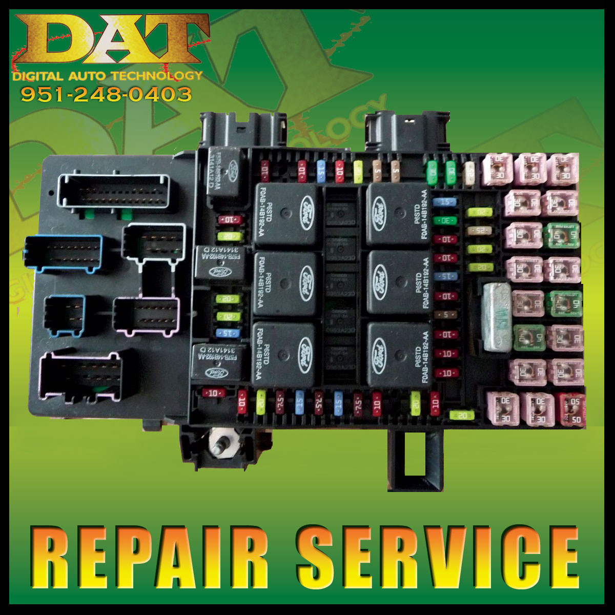 Ford Expedition Lincoln Navigator Fuse Box 2003 2006 Repair Service