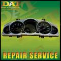 Porsche Cayenne Instrument Cluster Odometer LCD (2003 - 2006) *Repair Service*