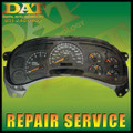 03 04 05 06  GMC YUKON FULL CLUSTER REPAIR