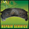 GMC YUKON FULL CLUSTER (2003-2006) *Repair Service*