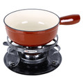 Lugano 9pc Cast Iron Fondue Set