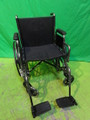 INVACARE VERANDA WHEELCHAIR WITH STANDARD FOOTRESTS
