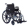 INVACARE TRACER SX5 WHEELCHAIR WITH STANDARD FOOTRESTS