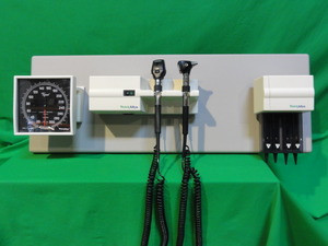 Welch Allyn 767 Wall Mount Diagnostic Set Without Thermometer Portland Surgical Sales Llc