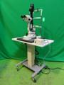 NIKON NS-1 SLIT LAMP MICROSCOPE WITH MOTORIZED TABLE