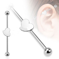 BIA03 Steel Heart Industrial Barbell