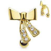 BELLYRING RIBBON GDPN15379