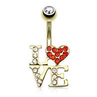BELLYRING LOVE LOGO GDPN15386