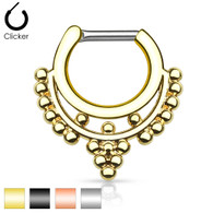 SEP-31 Beaded Collar IP Septum Clicker