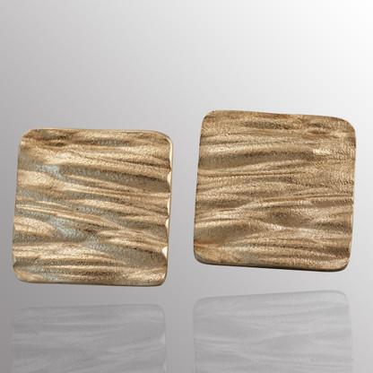 Silver cufflinks.  15X15mm