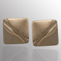 Silver cufflinks.  15X15mm.