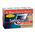 SAFEGUARD BATH SOAP 4OZ BAR 12/4