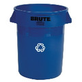 BRUTE RECYCLING CNTNR 44 GL BLU 4/CTN