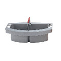 BRUTE MAID CADDY 16X9X5 HOLDS CLNG SUPPL GRA 4/CTN