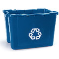 RECYCLING BX 14 GL W/PCR BLU 6