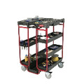 LADDER CART 500 LB MAX 31.5L STEEL & FOAM BLA