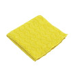 MICROFIBER BATHRM CLEAN CLOTH 16X16 YEL 12