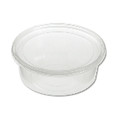 CNTR FOOD PLS 2PC W/LID 8OZ 250/CS