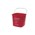 KLEEN PAILS/SANITIZING RED