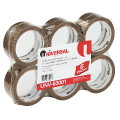 TAPE 2'' X 55YD (48MMx50MM) 1.85 MIL TAN 6/PK