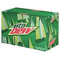 Mountain Dew - 36/12 oz. cans