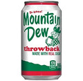Mountain Dew Throwback - 24/12 oz. cans