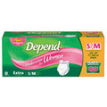 Depend Small/Medium Extra Absorbency Underwear for Women - 80 Count