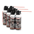 Compressed Gas Duster, 6 10oz Cans/Pack