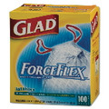 GLAD FORCEFLEX DRUM KITCHEN BG 13GL .95MIL WHI 100