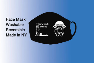 New York Strong / Pitbull with hat